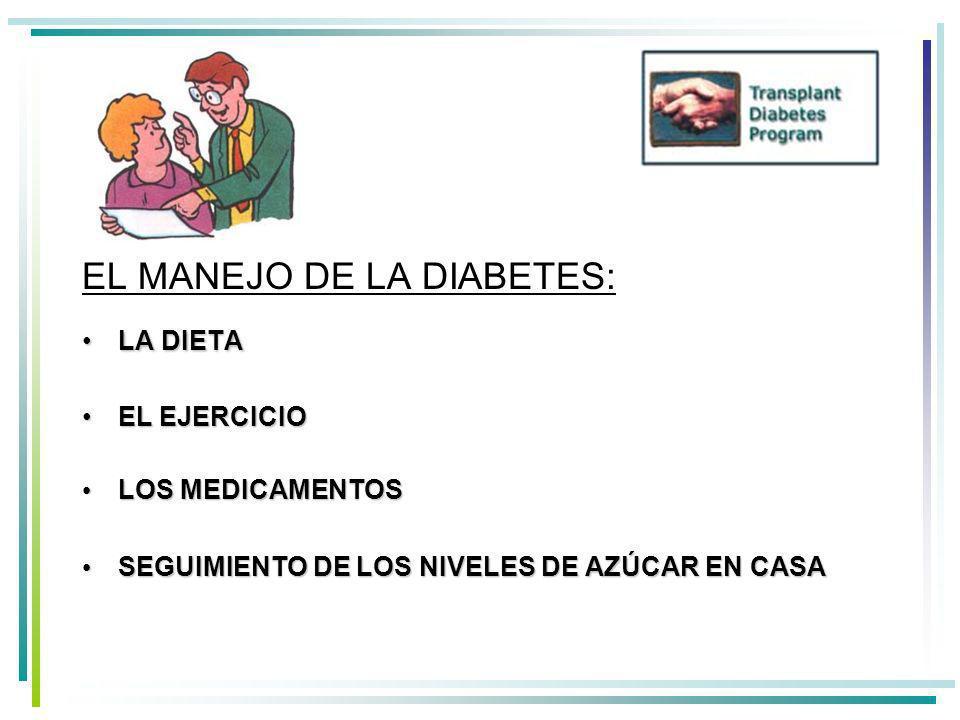EL MANEJO DE LA DIABETES: