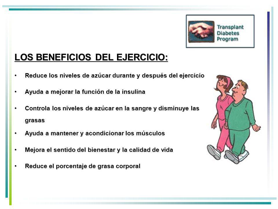 LOS BENEFICIOS DEL EJERCICIO:
