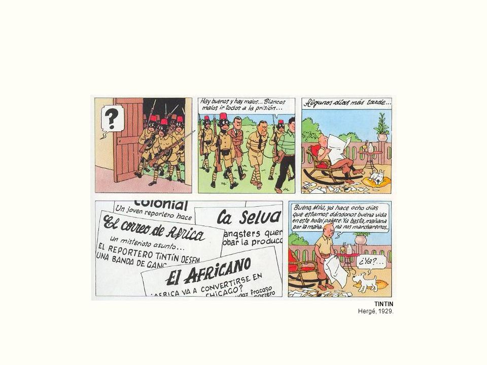 TINTIN Hergé, 1929.