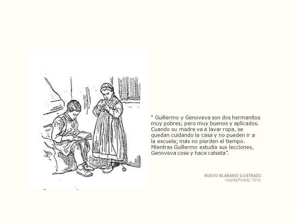 Guillermo y Genoveva son dos hermanitos muy pobres; pero muy buenos y aplicados.