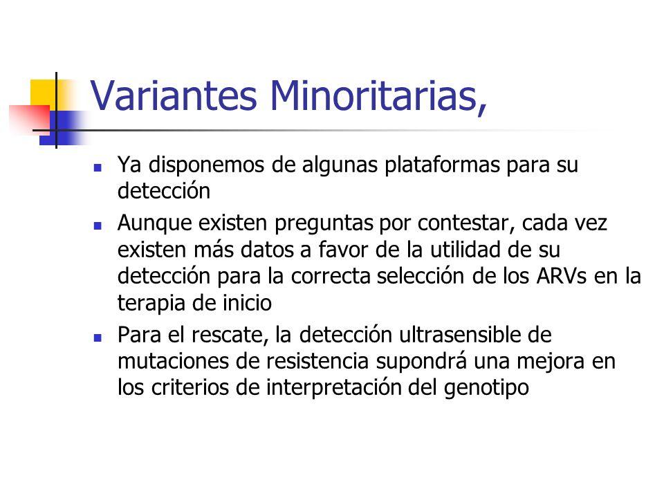 Variantes Minoritarias,