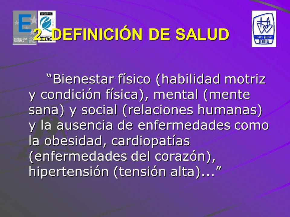 2. DEFINICIÓN DE SALUD