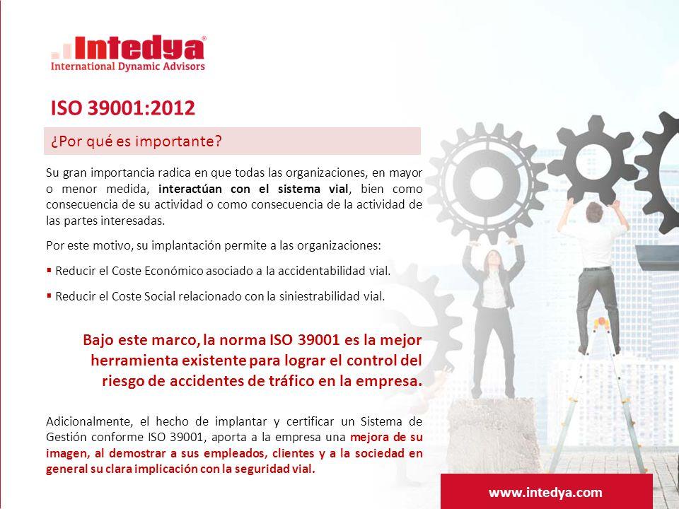 ISO 39001:2012 ¿Por qué es importante www.intedya.com