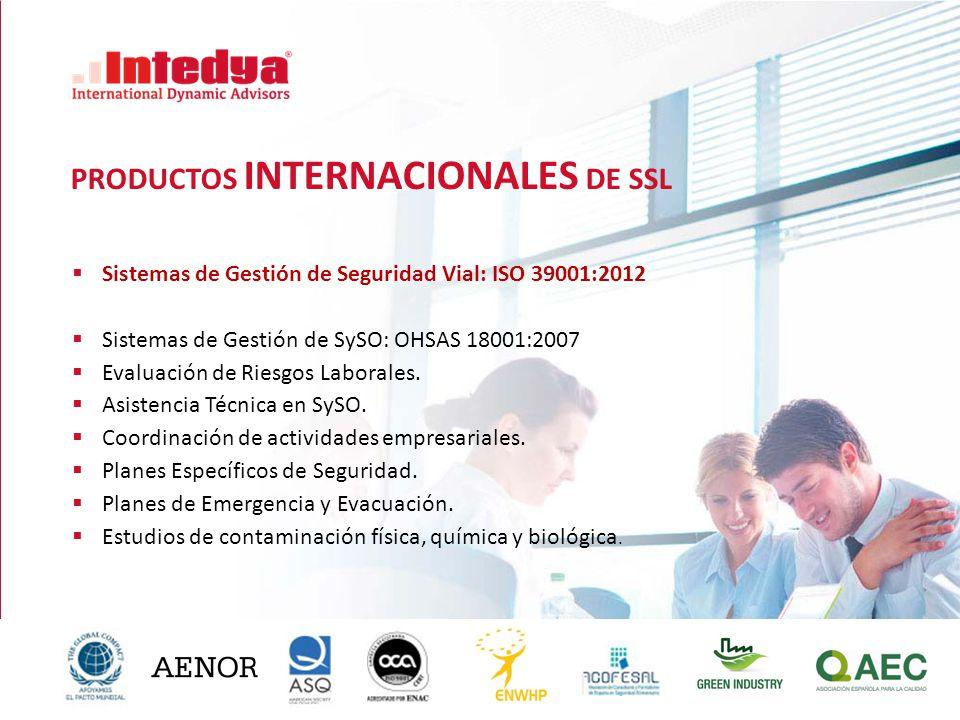 PRODUCTOS INTERNACIONALES DE SSL