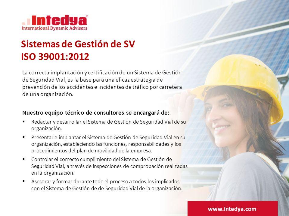 Sistemas de Gestión de SV ISO 39001:2012