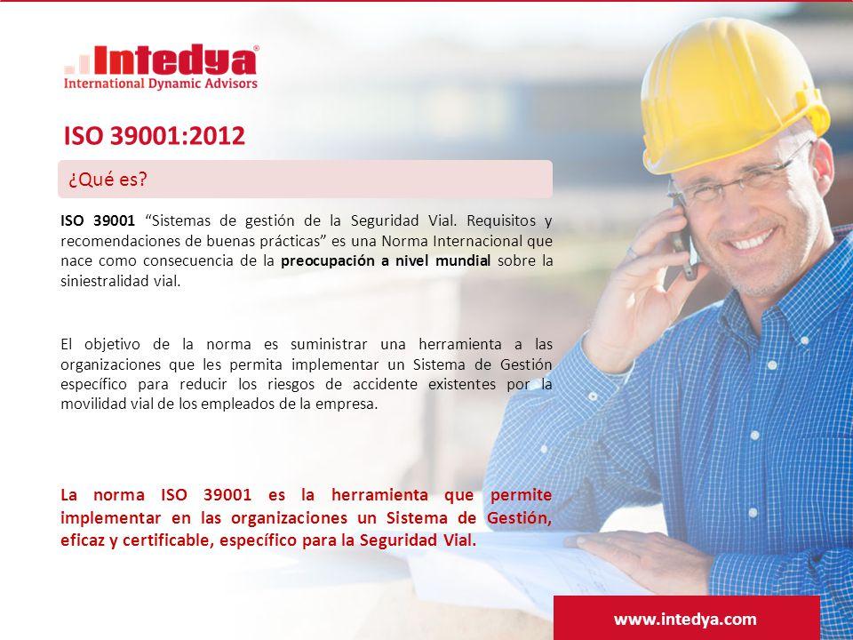 ISO 39001:2012 ¿Qué es