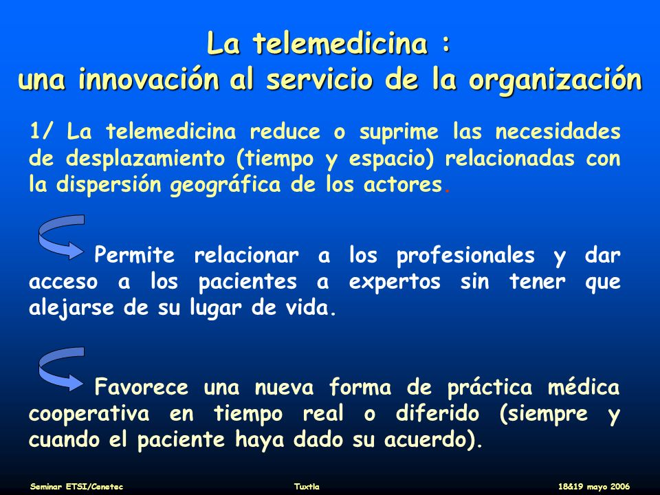 una innovación al servicio de la organización