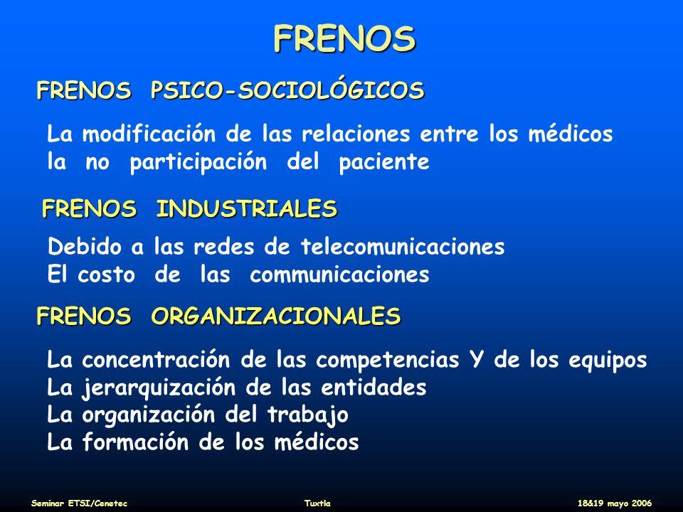 FRENOS FRENOS PSICO-SOCIOLÓGICOS