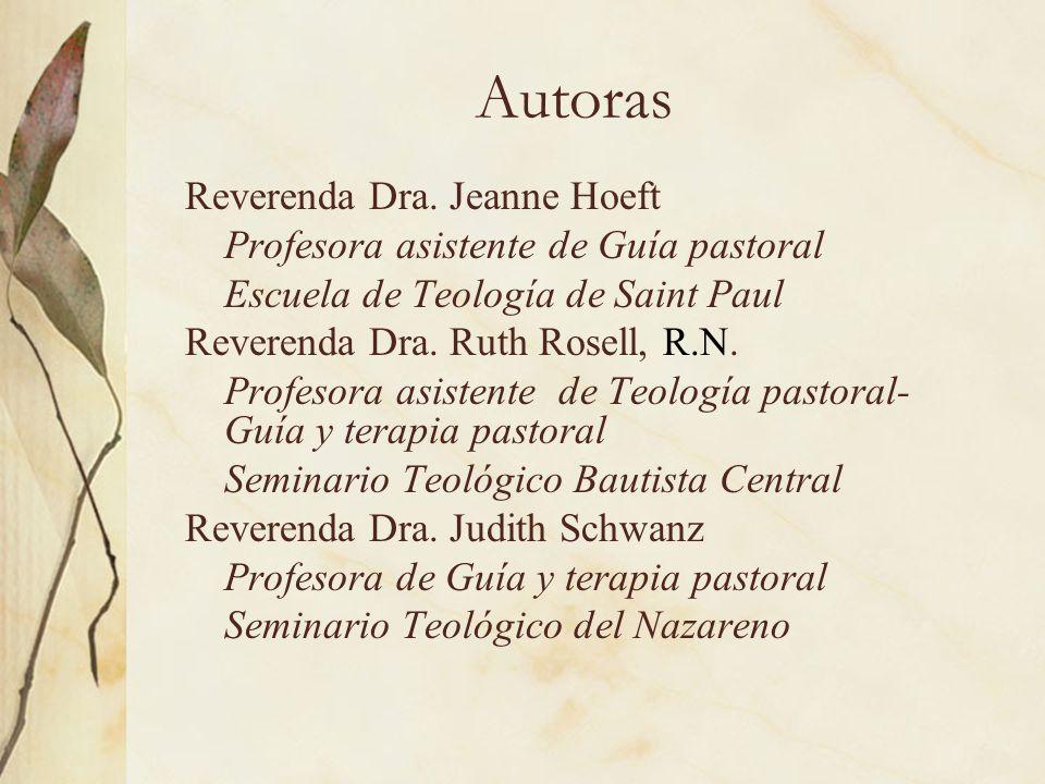 Autoras Reverenda Dra. Jeanne Hoeft