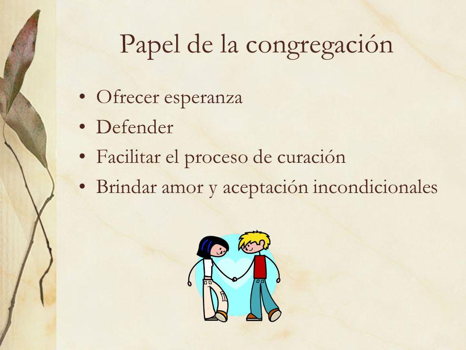 Papel de la congregación