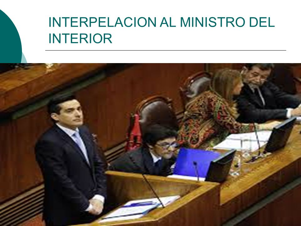 Material de apoyo referencia prueba 1 iii medio ppt for Agenda ministro interior