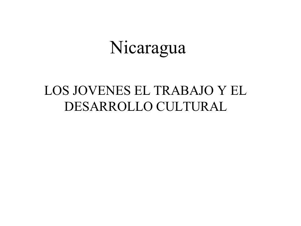 LOS JOVENES EL TRABAJO Y EL DESARROLLO CULTURAL