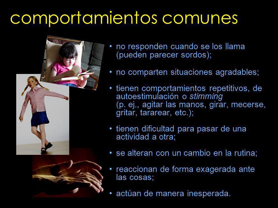 comportamientos comunes