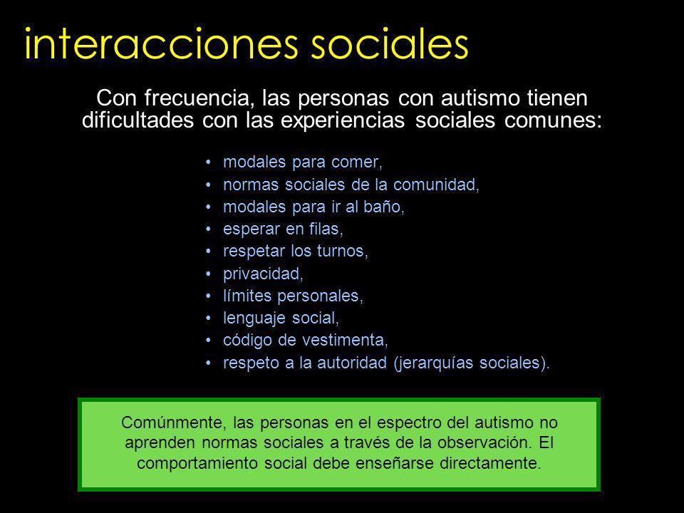 interacciones sociales