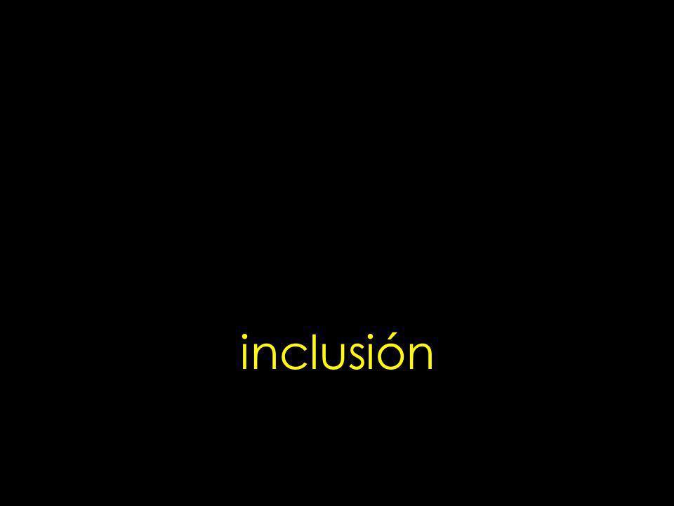 inclusión 34