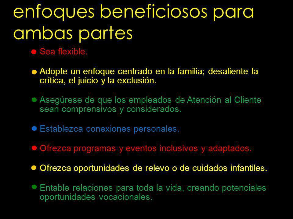 enfoques beneficiosos para ambas partes