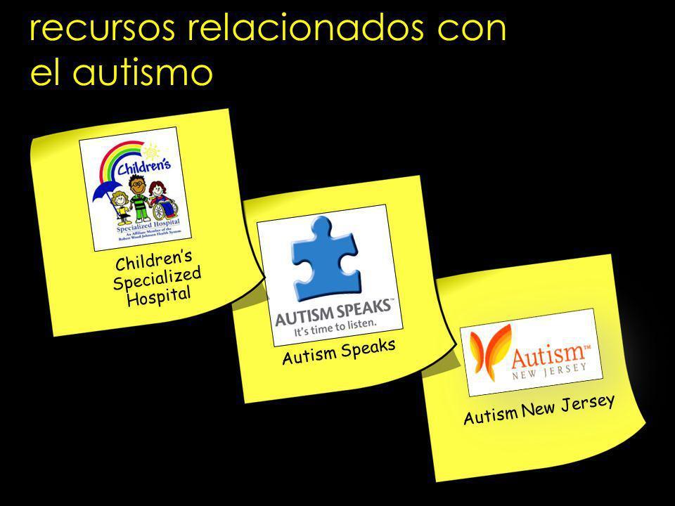 recursos relacionados con el autismo