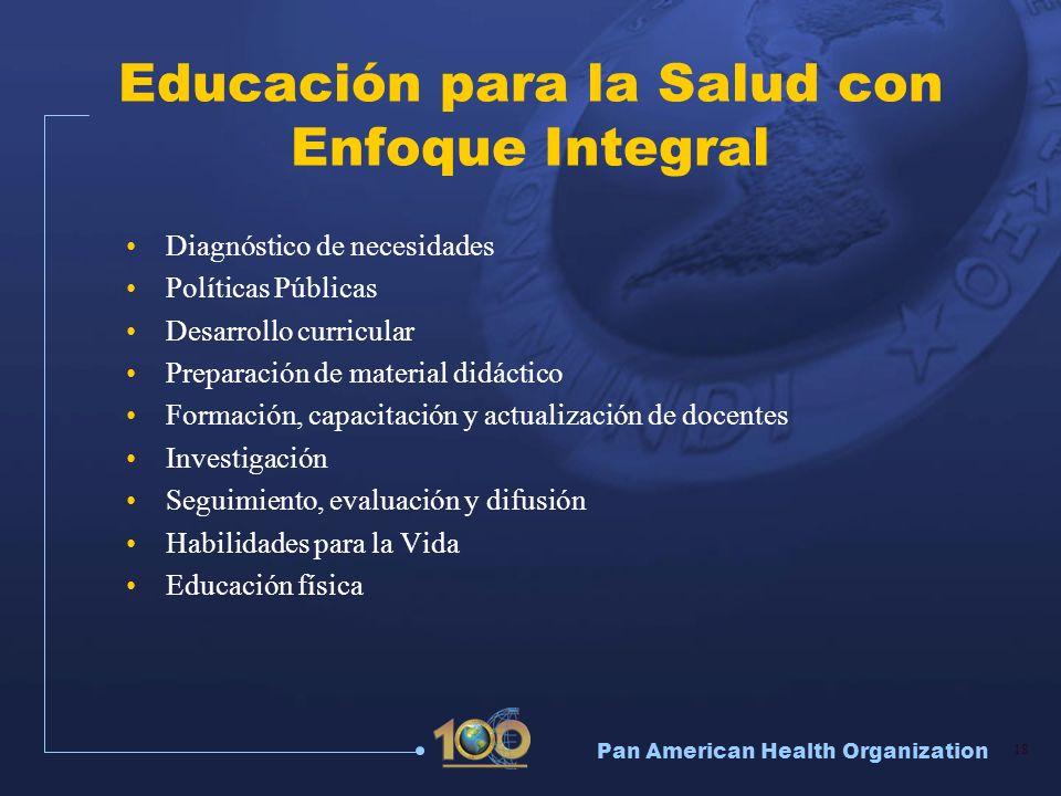Educación para la Salud con Enfoque Integral
