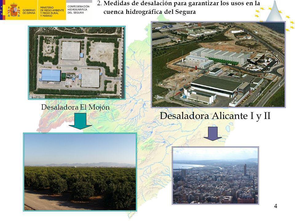 Desaladora Alicante I y II