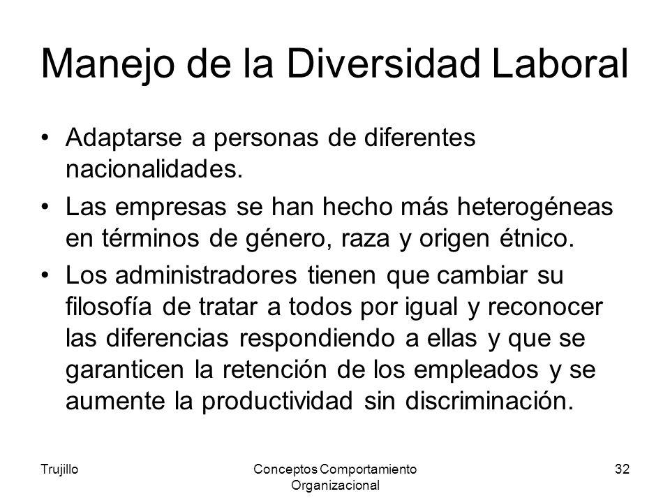 Manejo de la Diversidad Laboral