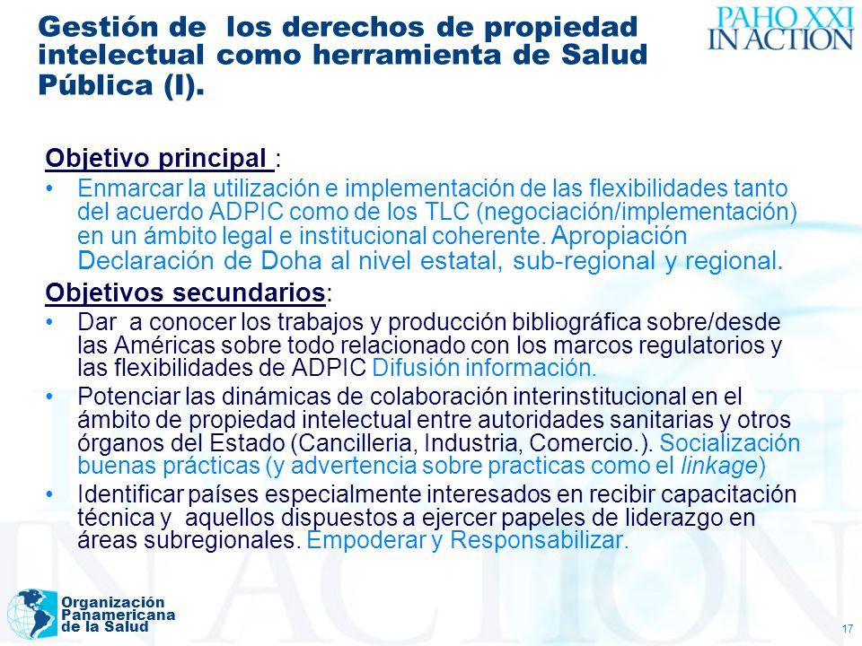 Gestión de los derechos de propiedad intelectual como herramienta de Salud Pública (I).