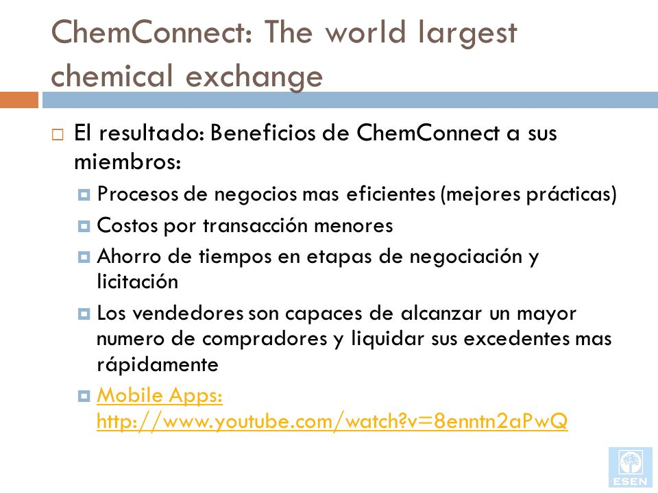 Update: Elemica Responds to ChemConnect Acquisition of CheMatch