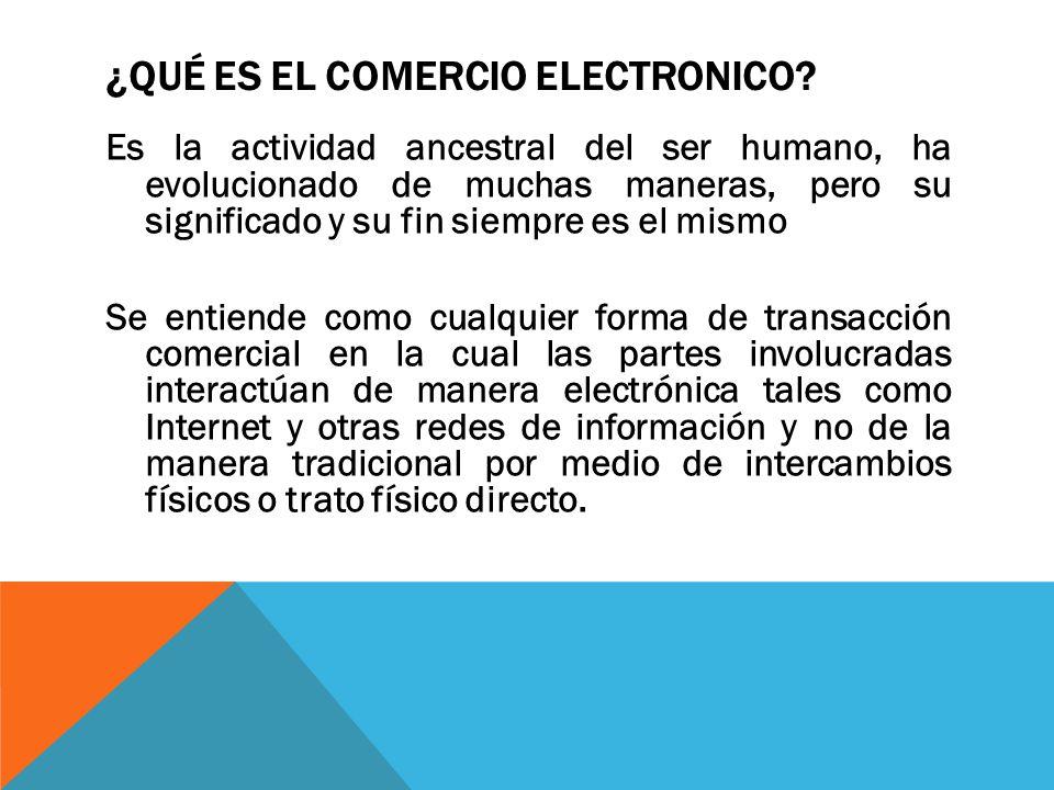El comercio electr nico en los negocios ppt video online for Que es el comercio interior