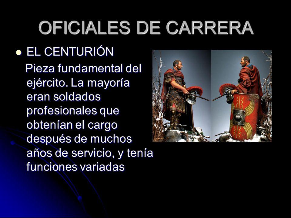 OFICIALES DE CARRERA EL CENTURIÓN
