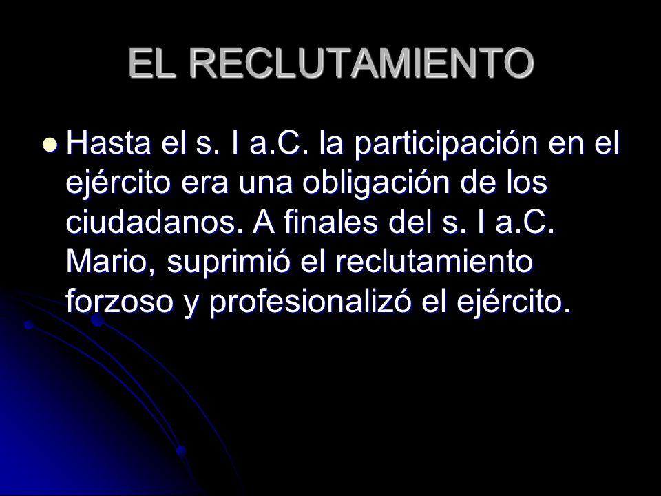 EL RECLUTAMIENTO