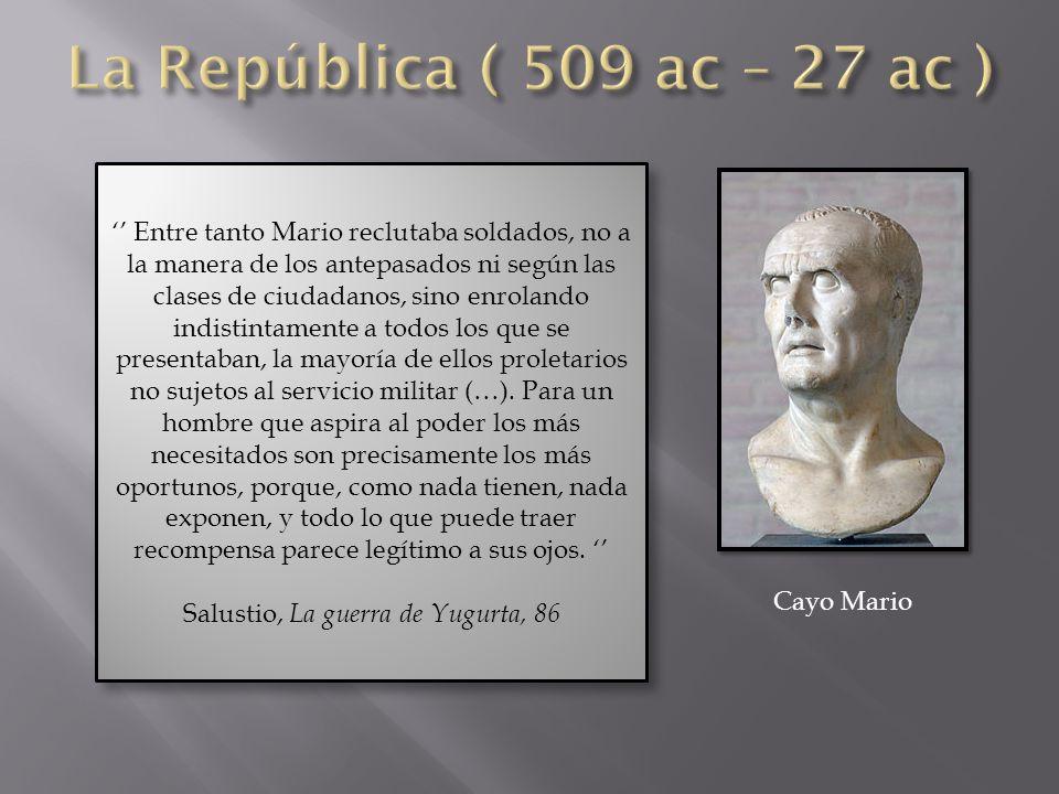 Salustio, La guerra de Yugurta, 86