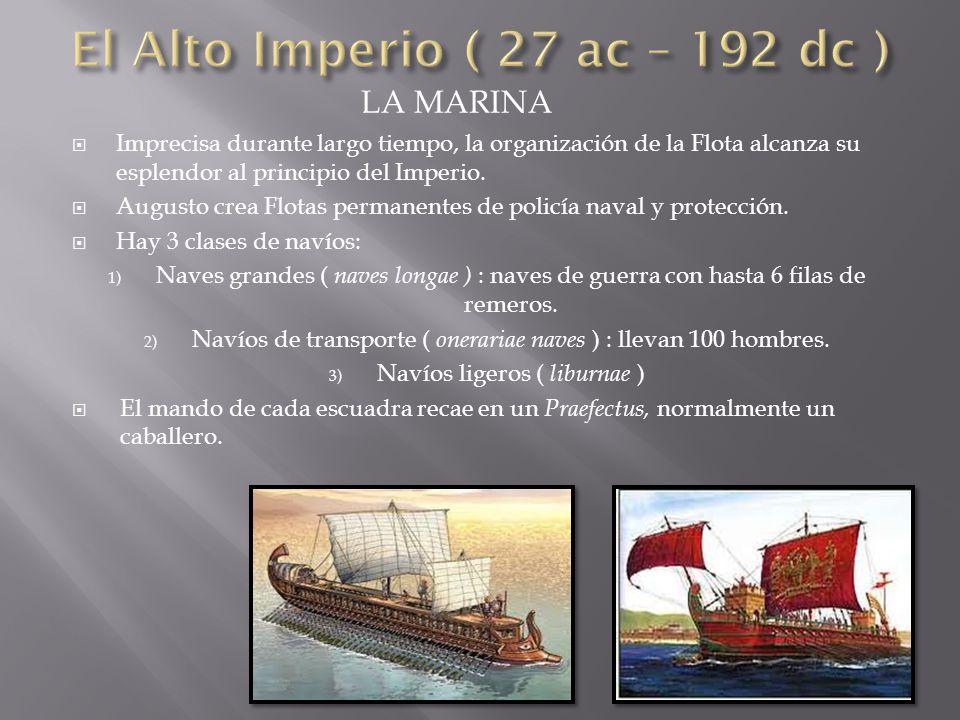 El Alto Imperio ( 27 ac – 192 dc )