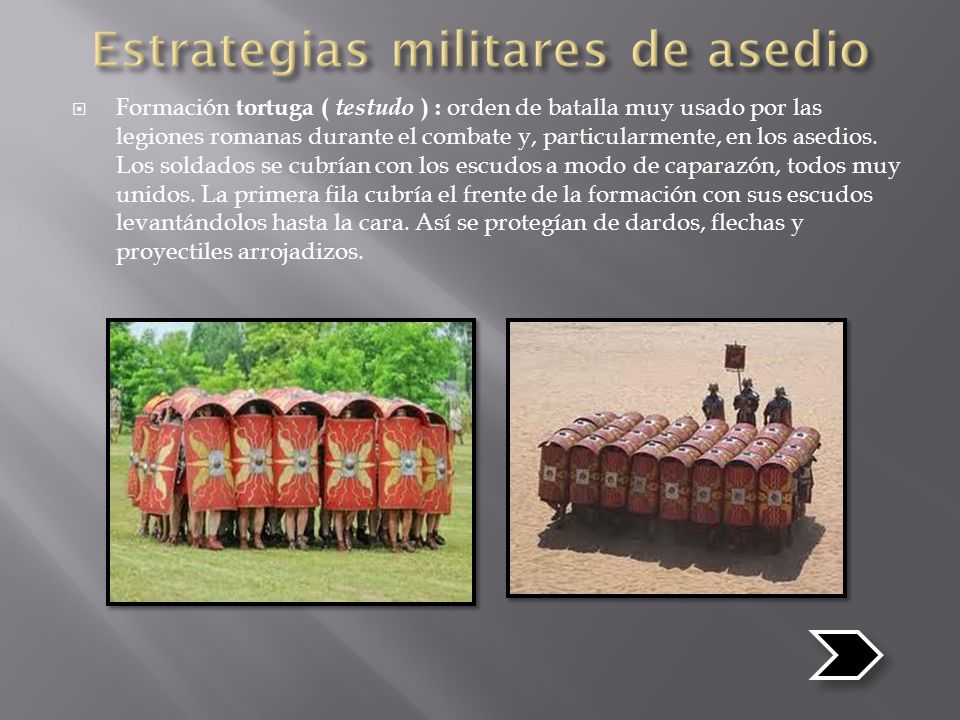 Estrategias militares de asedio