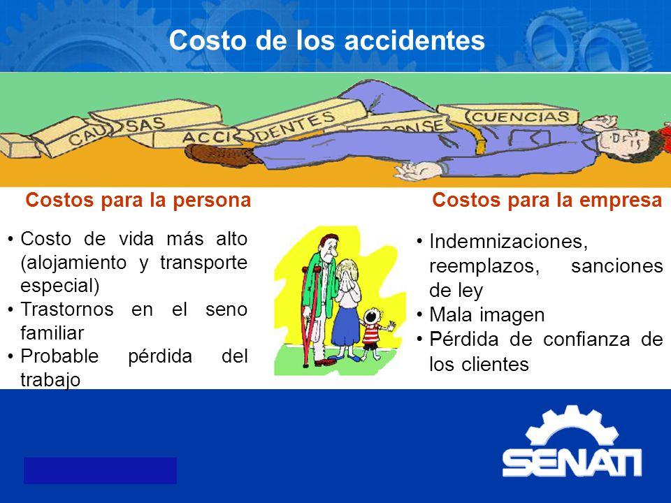 Costo de los accidentes