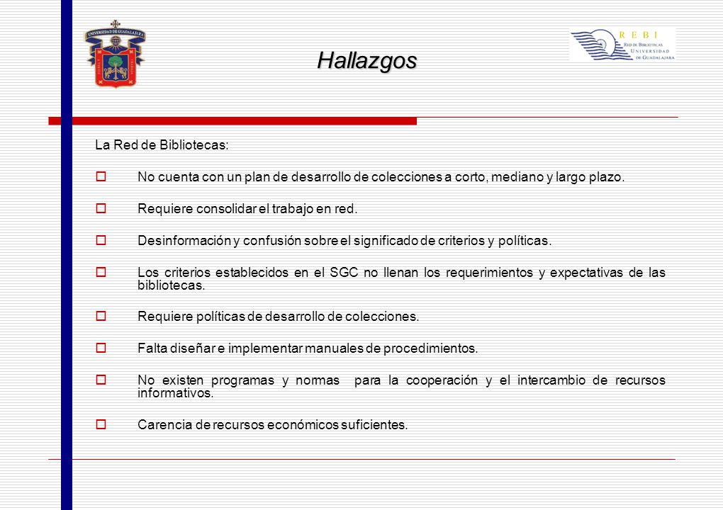 Universidad de guadalajara coordinaci n general acad mica for Colecciones en red