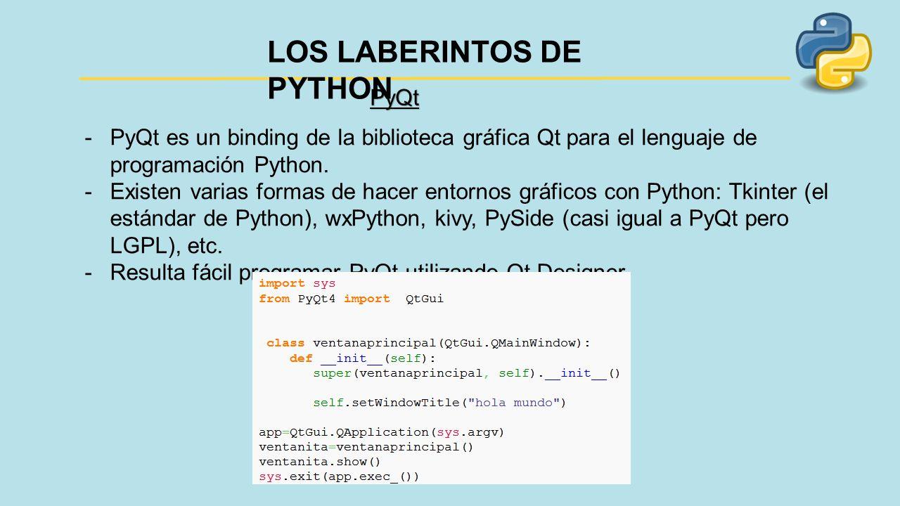 LOS LABERINTOS DE PYTHON - ppt descargar