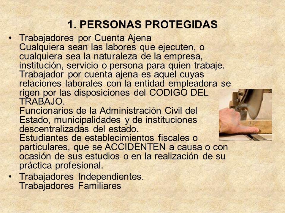 1. PERSONAS PROTEGIDAS