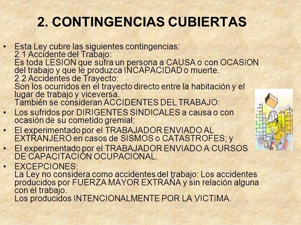 2. CONTINGENCIAS CUBIERTAS