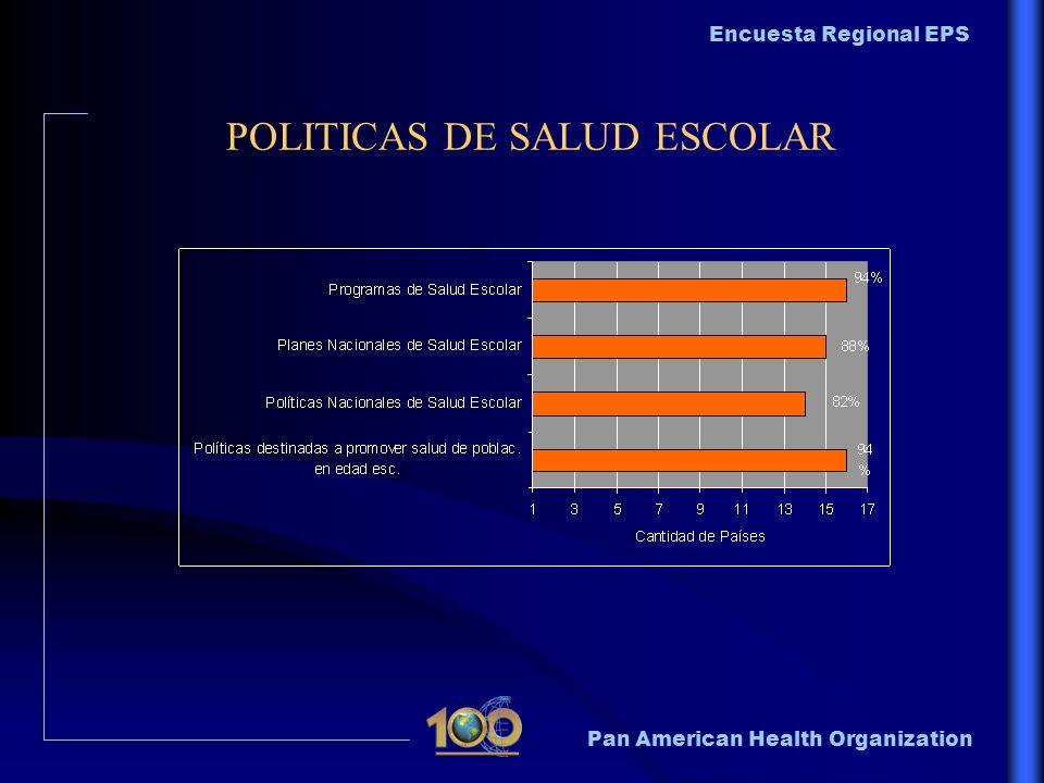 POLITICAS DE SALUD ESCOLAR