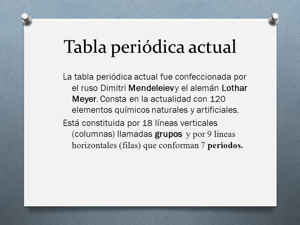 La tabla peridica ppt descargar 5 tabla peridica actual urtaz Image collections
