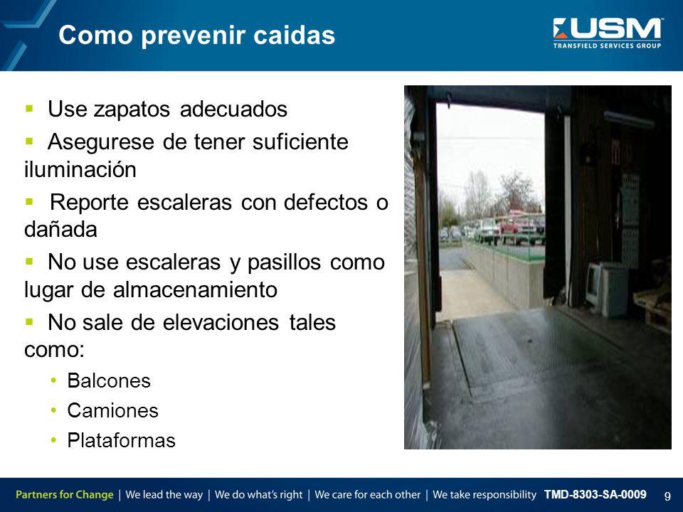 Como prevenir caidas Use zapatos adecuados
