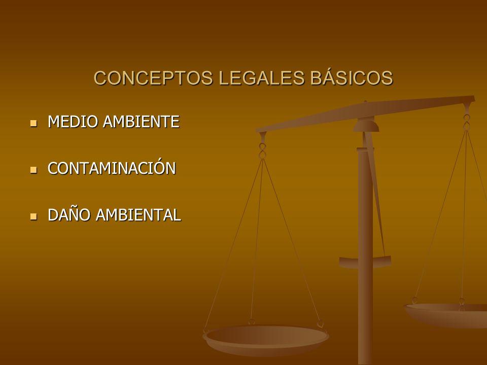 CONCEPTOS LEGALES BÁSICOS