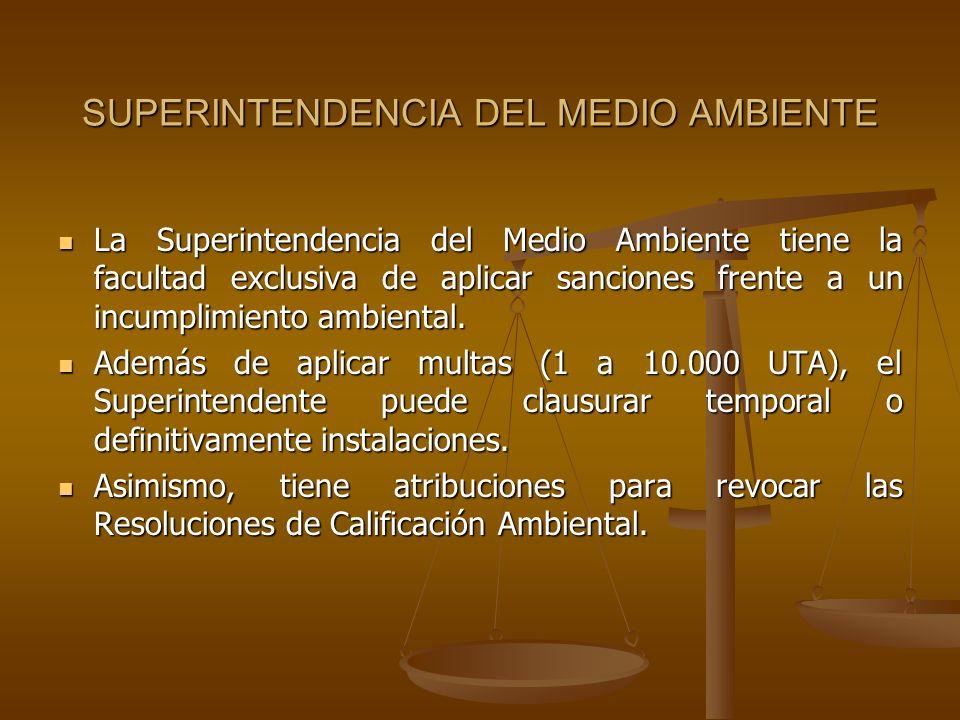 SUPERINTENDENCIA DEL MEDIO AMBIENTE