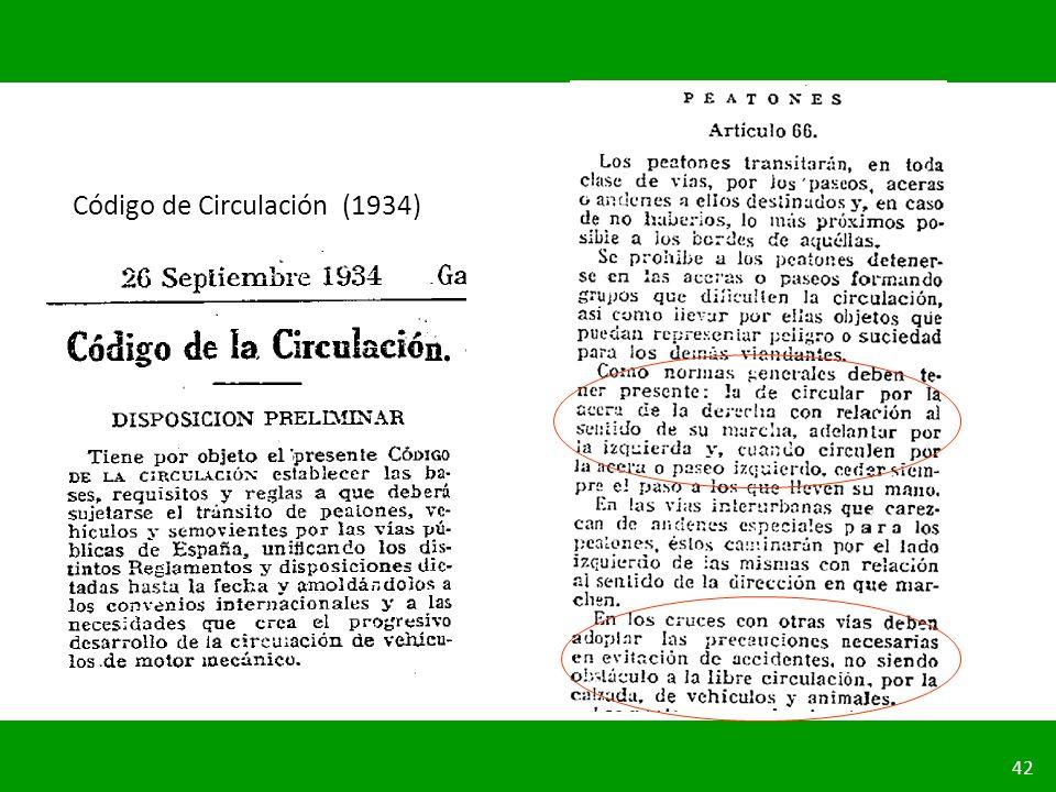 Código de Circulación (1934)