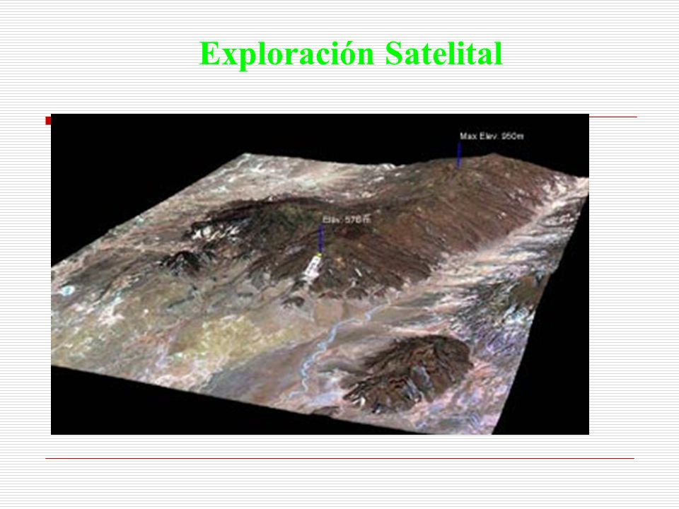 Exploración Satelital