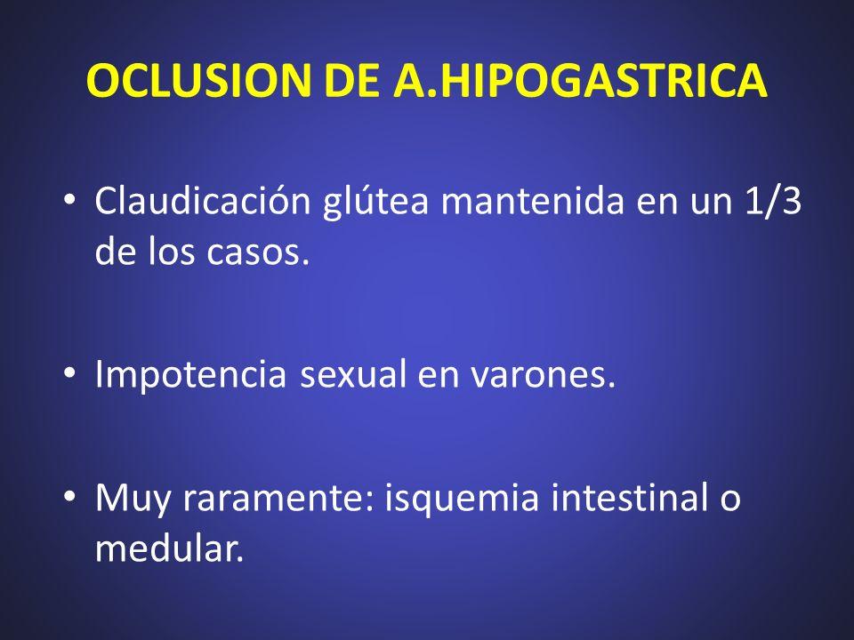 OCLUSION DE A.HIPOGASTRICA