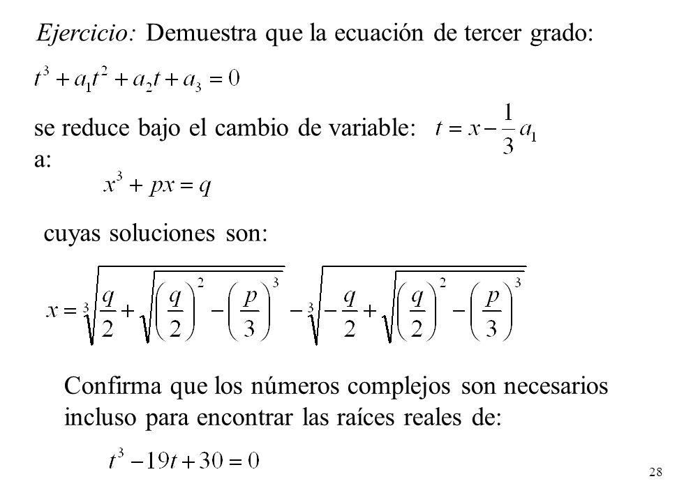 10. Números complejos. - ppt descargar