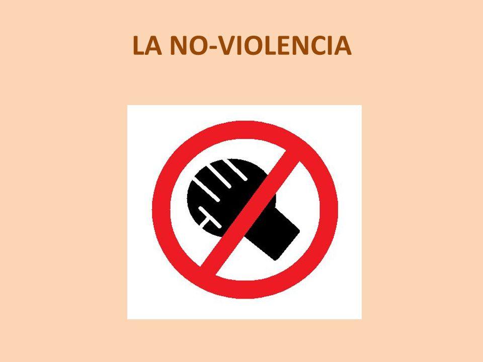 LA NO-VIOLENCIA