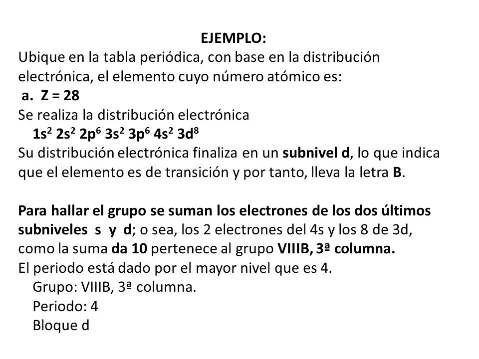 Tomo partcula fundamental que constituye la materia ppt descargar ejemplo ubique en la tabla peridica con base en la distribucin electrnica el urtaz Image collections