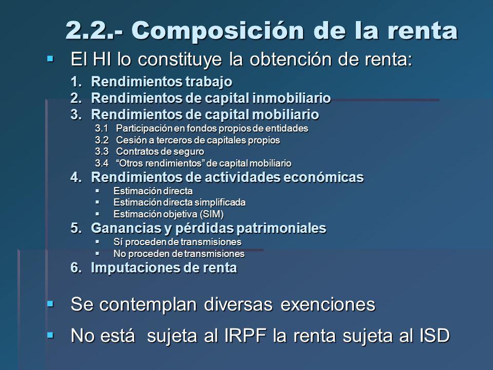 Sistema fiscal espa ol introducci n al irpf ppt descargar for Mobiliario y inmobiliario