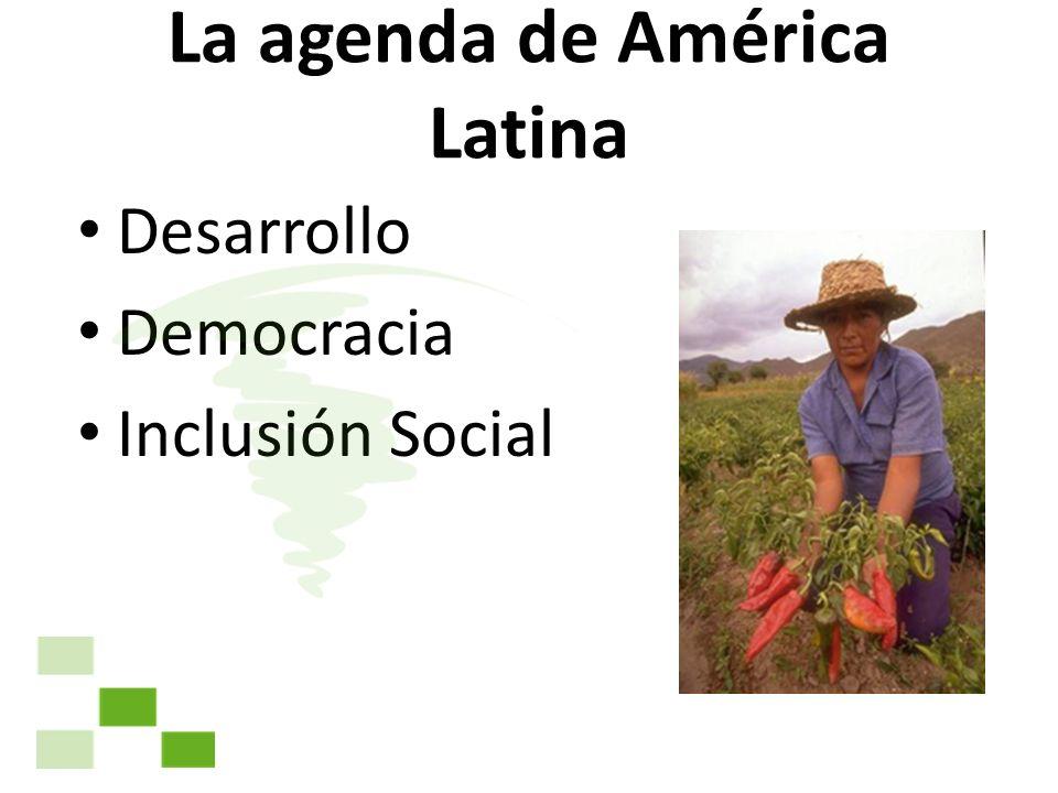 La agenda de América Latina